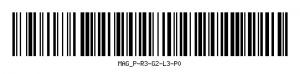 Kod kreskowy lokalizacji regału